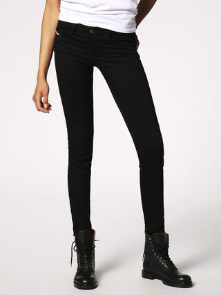 SKINZEE-LOW 0813E, Black denim