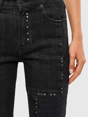 D-Joy JoggJeans 009KY, Black/Dark grey - Jeans