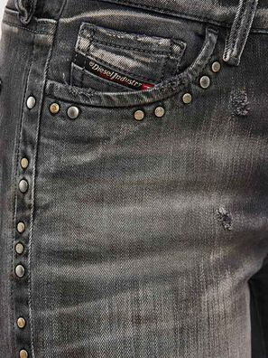Slandy 069QR, Black/Dark grey - Jeans