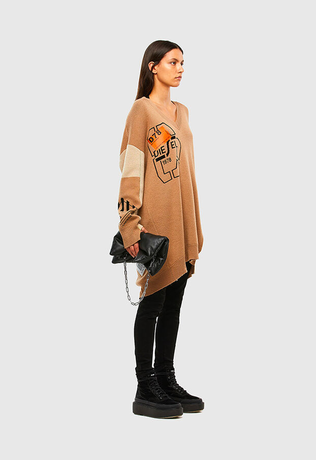 M-ANNE, Light Brown - Knitwear
