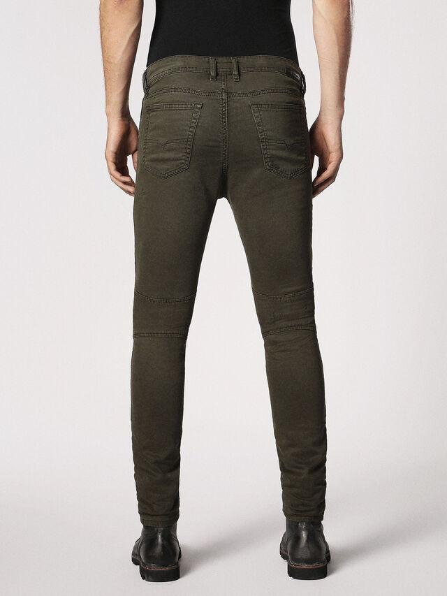 Diesel - BAKARI JOGGJEANS 0684T, Olive Green - Jeans - Image 2