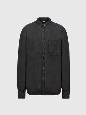D-BILLY, Black - Denim Shirts