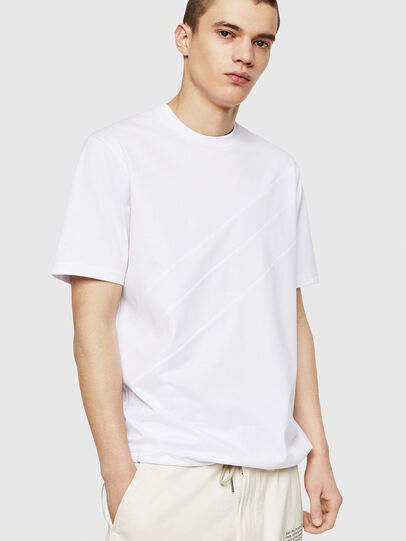 Diesel - T-ALEKSEY, White - T-Shirts - Image 1