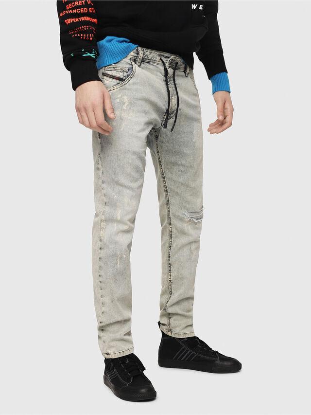 Diesel - Krooley JoggJeans 069FD, Light Blue - Jeans - Image 1