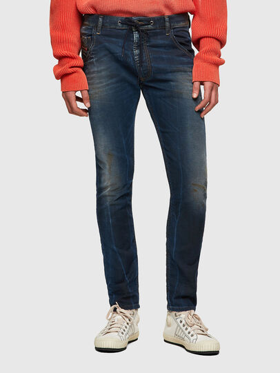 Diesel - Krooley JoggJeans® 069WR, Dark Blue - Jeans - Image 1