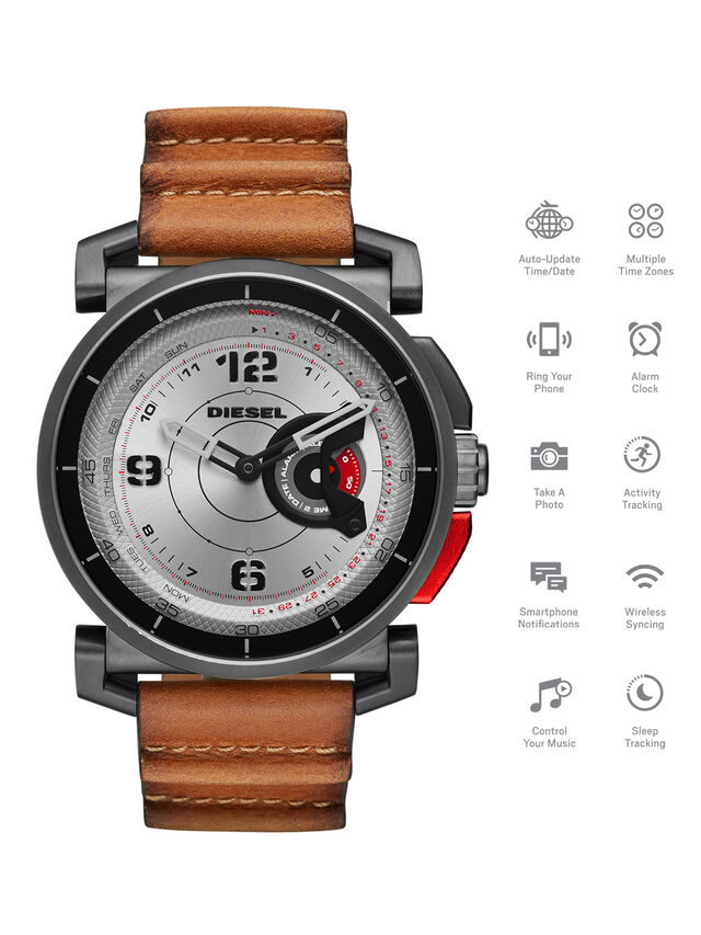 Diesel DT1002, Brown - Smartwatches - Image 1