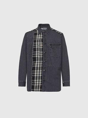 D-FINLY, Dark grey - Denim Shirts