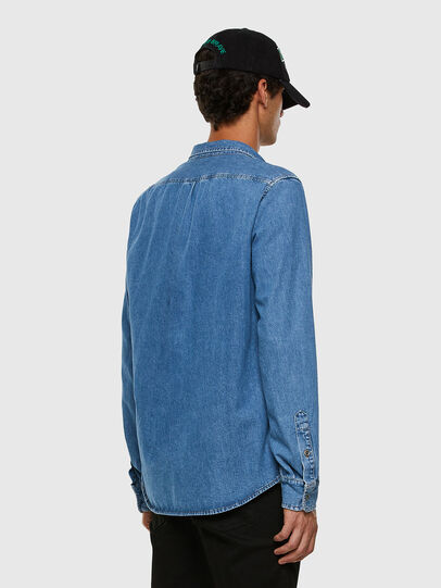 Diesel - D-BILLY, Light Blue - Denim Shirts - Image 5