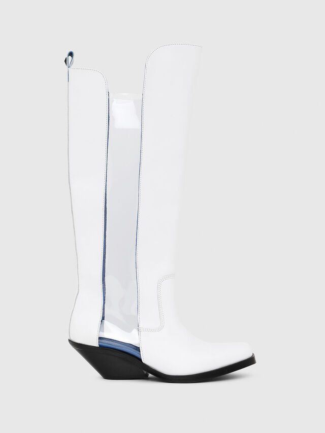Diesel - D-GIUDECCA MBT, White - Boots - Image 1