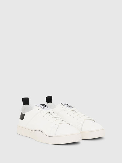 Diesel - S-CLEVER LS, White/Black - Sneakers - Image 2