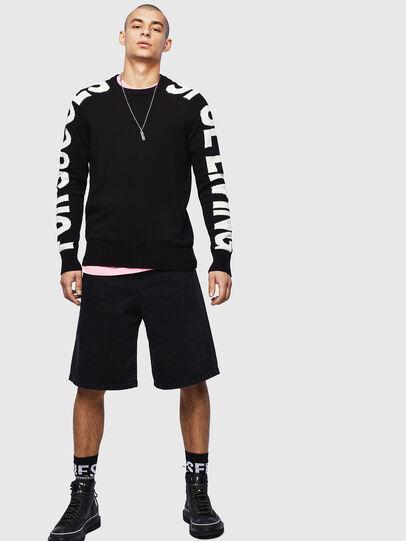 Diesel - K-INTARY, Black - Knitwear - Image 5