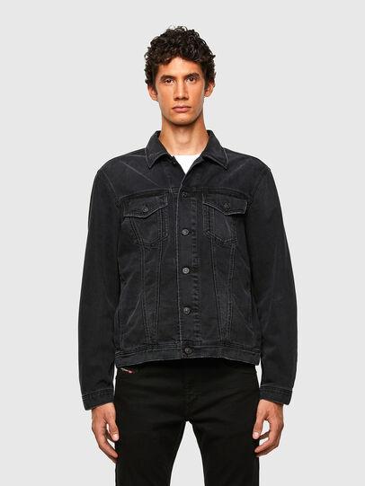 Diesel - NHILL-SP4, Black - Denim Jackets - Image 1