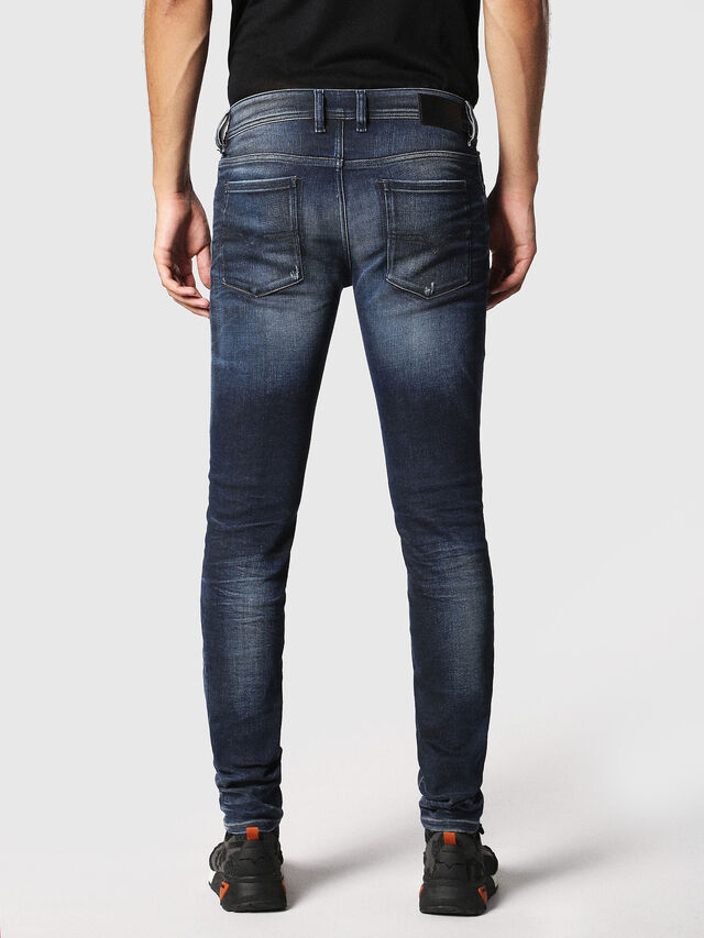 Diesel - Sleenker 084JM, Dark Blue - Jeans - Image 2