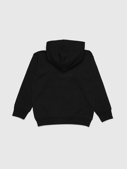 Diesel - SDIVISION OVER, Black - Sweaters - Image 2