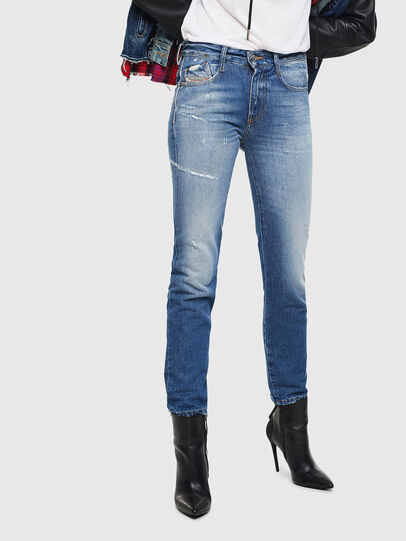 Diesel - D-Rifty 0097B, Medium blue - Jeans - Image 1