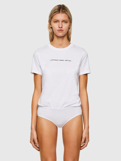 Diesel - UFBY-BODYSILY, White - Bodysuits - Image 1