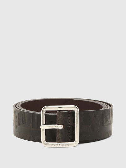 Diesel - B-BILLOVER, Brown - Belts - Image 1