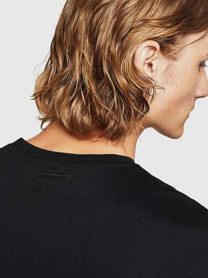 Diesel - TEORIALE-X3, Black - T-Shirts - Image 4