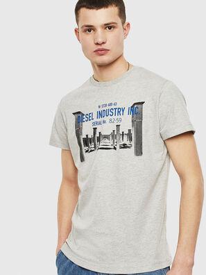 T-DIEGO-S13, Grey - T-Shirts