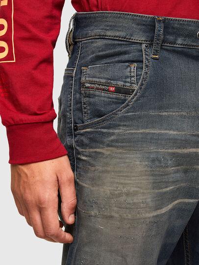 Diesel - KROOLEY JoggJeans® 069QE, Dark Blue - Jeans - Image 3