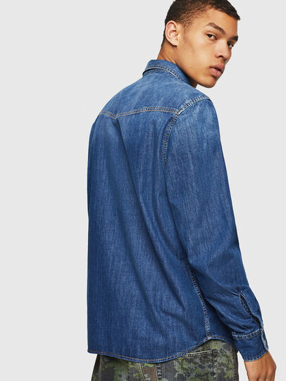 Diesel - D-EAST-P, Blue Jeans - Denim Shirts - Image 2