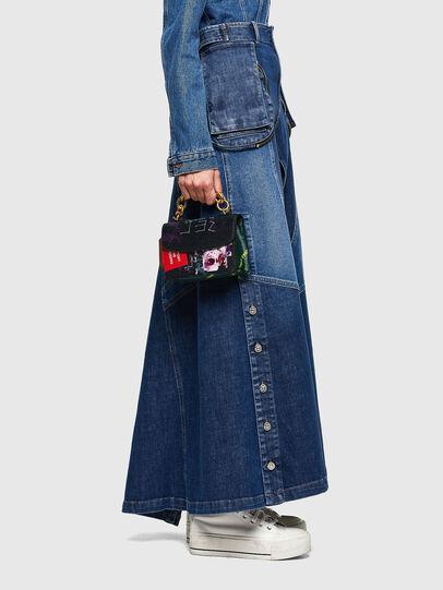 Diesel - DE-PEN, Medium blue - Skirts - Image 7