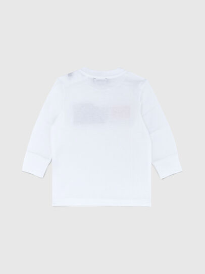 Diesel - TDIEGOCUTYB ML, White - T-shirts and Tops - Image 2