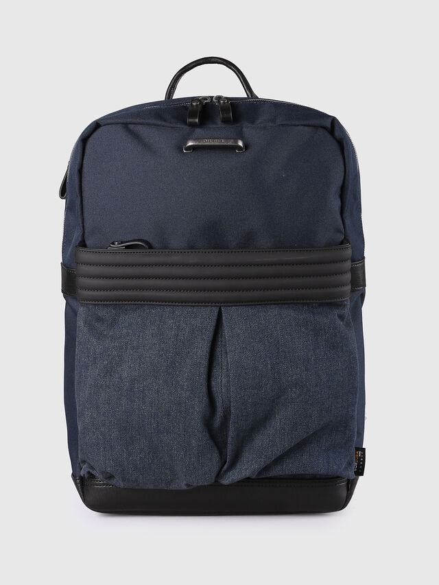 Diesel - M-PROOF BACK, Blue Jeans - Backpacks - Image 1