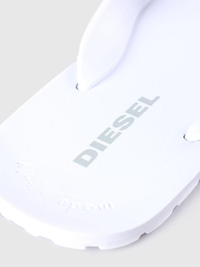 Diesel SPLISH, White - Slippers - Image 3