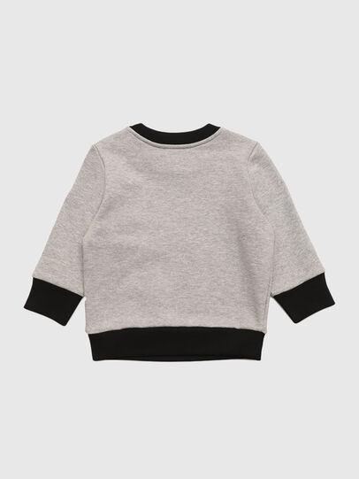 Diesel - SALLOB, Grey - Sweaters - Image 2