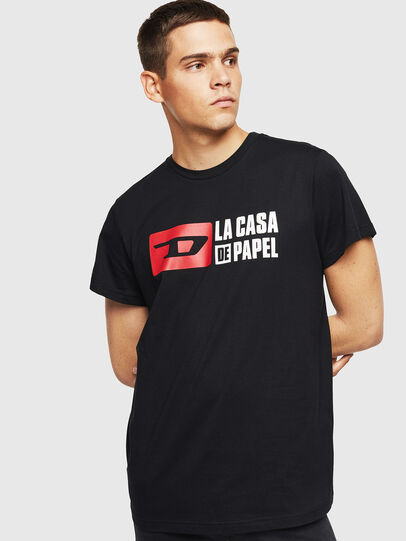 Diesel - LCP-T-DIEGO-CASA, Black - T-Shirts - Image 1