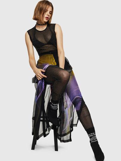 Diesel - O-POPLIA, Black - Skirts - Image 7
