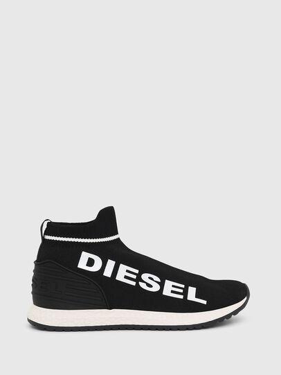 Diesel - SLIP ON 03 LOW SOCK, Black - Footwear - Image 1