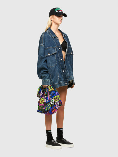 Diesel - SHOPPINA PAS, Red - Shopping and Shoulder Bags - Image 6