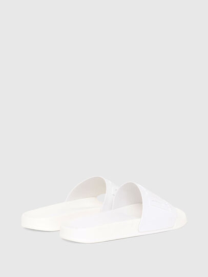 Diesel - SA-MAYEMI W, White - Slippers - Image 3