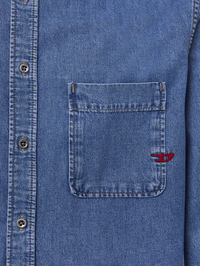 Diesel - D-BILLY, Light Blue - Denim Shirts - Image 3