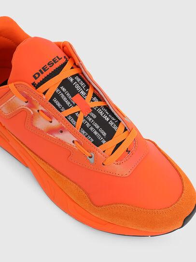 Diesel - S-SERENDIPITY LC, Orange - Sneakers - Image 4