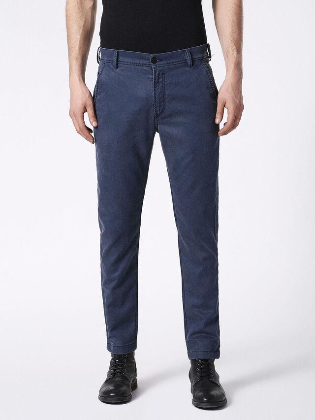 Diesel - SLIM-CHINO-M JOGGJEANS 0685E, Blue - Jeans - Image 1