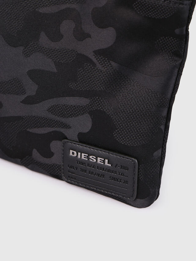 Diesel F-DISCOVER CROSS, Black - Crossbody Bags - Image 4