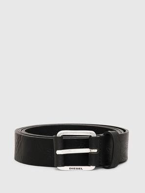 B-LOG, Black Leather - Belts