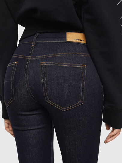Diesel - D-Roisin 0098L, Dark Blue - Jeans - Image 4
