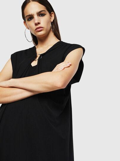 Diesel - D-SULE, Black - Dresses - Image 4