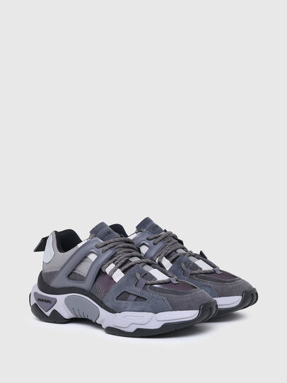 Diesel - S-KIPPER LOW TREK II, Grey - Sneakers - Image 2