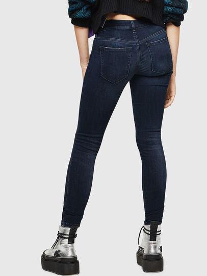 Diesel - Slandy Low 0870C, Dark Blue - Jeans - Image 2