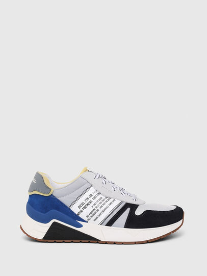 Diesel - S-BRENTHA FLOW, Grey/Blue - Sneakers - Image 1