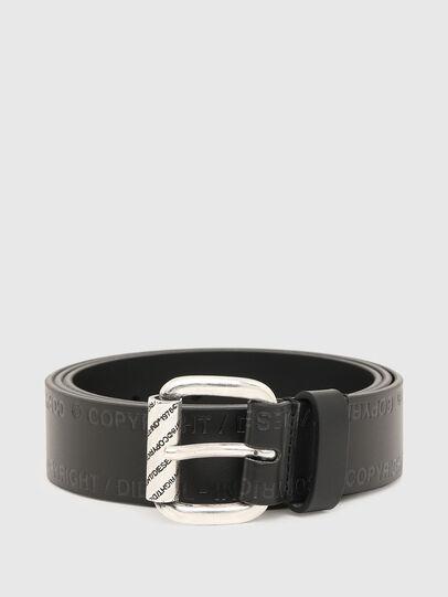 Diesel - B-FULCOPY, Black - Belts - Image 1