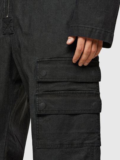 Diesel - D-DEVO-SP JOGGJEANS, Black - Jumpsuits - Image 5