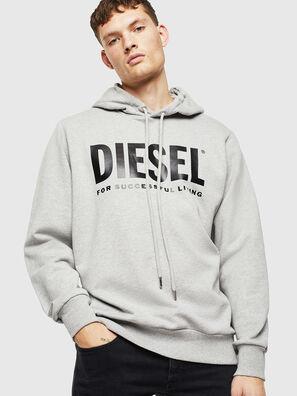 S-GIR-HOOD-DIVISION-, Grey - Sweaters