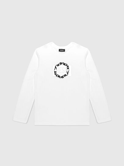 Diesel - TSILYRSUC ML, White - T-shirts and Tops - Image 1