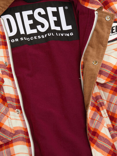 Diesel - J-TANIFER, Red/White - Jackets - Image 5